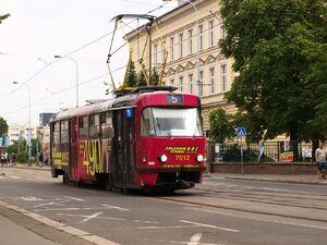 Nádraží Holešovice lijn5 T3SU