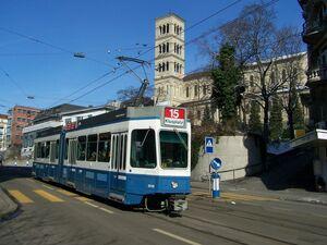 Weinbergstrasse lijn15 Tram2000