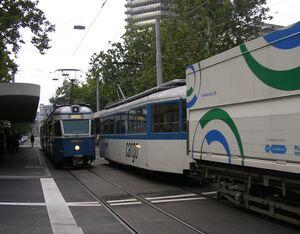 Limmatplatz lijn4 Mirage