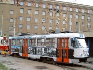 Podbaba lijn8 T3M