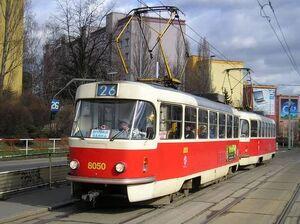 Sídliště Červený Vrch lijn26 T3M