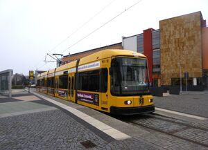 Coswig Zentrum Börse lijn4 NGT6DD