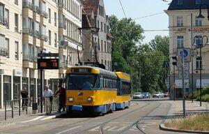Leipzig Hbf lijn8 T4D
