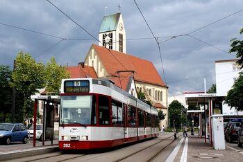 Scherrerplatz lijn5 GT8Z