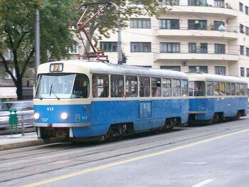 Tatra T4YU Zagreb