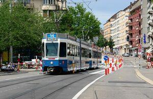 Kronenstrasse lijn14 Tram2000