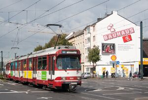 Ronsdorfer Straße lijnU75 GT8SU