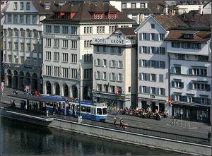 Rudolf-Brun-Brücke lijn15 Tram2000