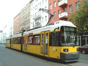 Wohlertstraße lijnM8-GT6N