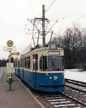 Aurikelstraße lijn26 M5