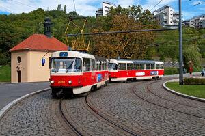Radlická lijn7 T3SU