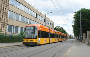 Trachauer Straße lijn13 NGT6DD