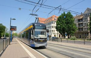 Altes Messeglände lijn15 NGT12
