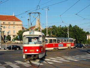 Palackého náměstí lijn7 T3