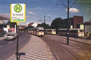 Am Stufstock lijn710 GT8