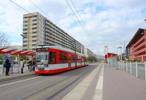 Zentrum Neustadt lijn9 MGT6D