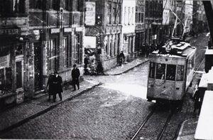 Brugge - tram 2, 1920