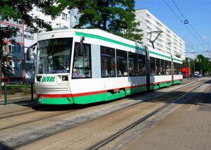 NGT8D Magdeburg lijn 10