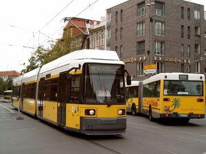 Rathaus Pankow lijn52 GT6NZ