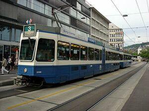 Sihlpost lijn3 Tram2000