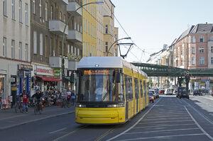 U-Eberswalder Straße lijnM10 Flexity