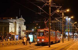 Glavna železnička stanica lijn13 KT4YU