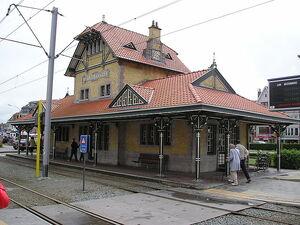 De Haan tramstation
