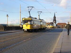 Augustusbrücke lijn8 T4D