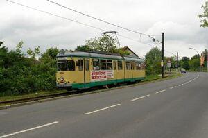 Rüdersdorf Breitscheidstraße lijn88 GT6