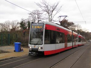 Merseburg Am Stadtpark lijn5 MGT-K