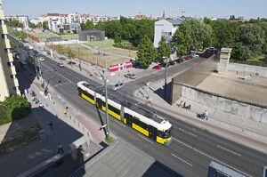Gedänkstatte Berliner Mauer lijnM10 GT6N