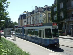 Röslistrasse lijn15 Tram2000