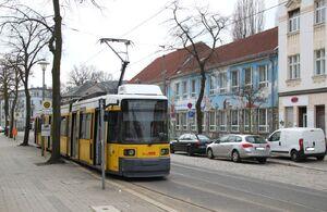 Haeckelstraße lijn63 GT6N
