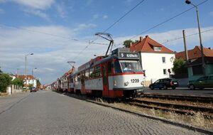 Leuna Leunatorstraße lijn5 T4D