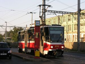 ČSAD Smíchov lijn13 T6A5
