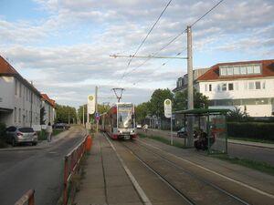 Merseburg Naumburger Straße lijn5 MGT-K