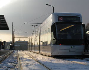 Kloten Balsberg Bahnhof lijn10 Cobra