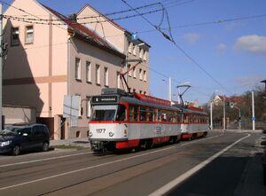 Melanchtonstraße lijn8 T4D