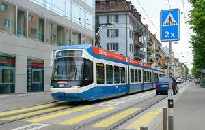 Wildbachstrasse lijn4 Cobra