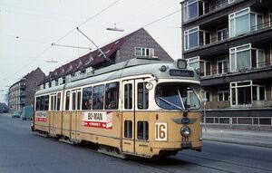 Frederiksborgvej Rønningsvej lijn16 GT6