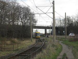 Eisenbahnbrücke lijn4 NGT6DD