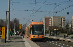 Amalie-Dietrich-Platz lijn7 NGT6DD