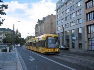 Schweriner Straße lijn2 NGT6DD