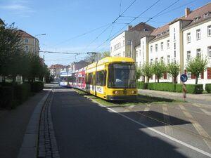 Hebbelplatz lijn2 NGT8DD