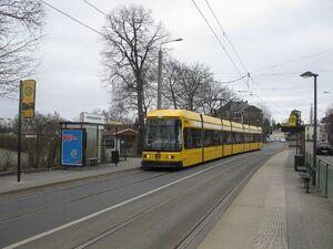 Lassallestraße lijn1 NGT8DD