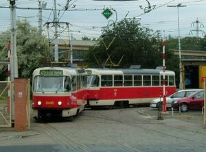 Vozovna Kobylisy lijn25 T3RP