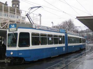 BahnhofquaiHB lijn14 Tram2000