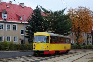 Litvínov-Citadela lijn3 T3
