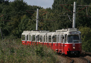 Weense trams Zuilenstein
