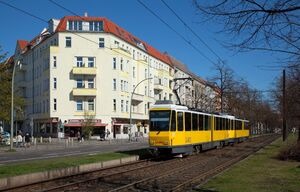S Greifswalder Straße lijnM4 KT4D